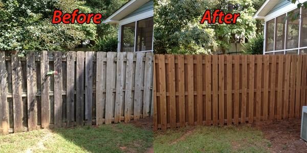 Fence Cleaning & Restoration