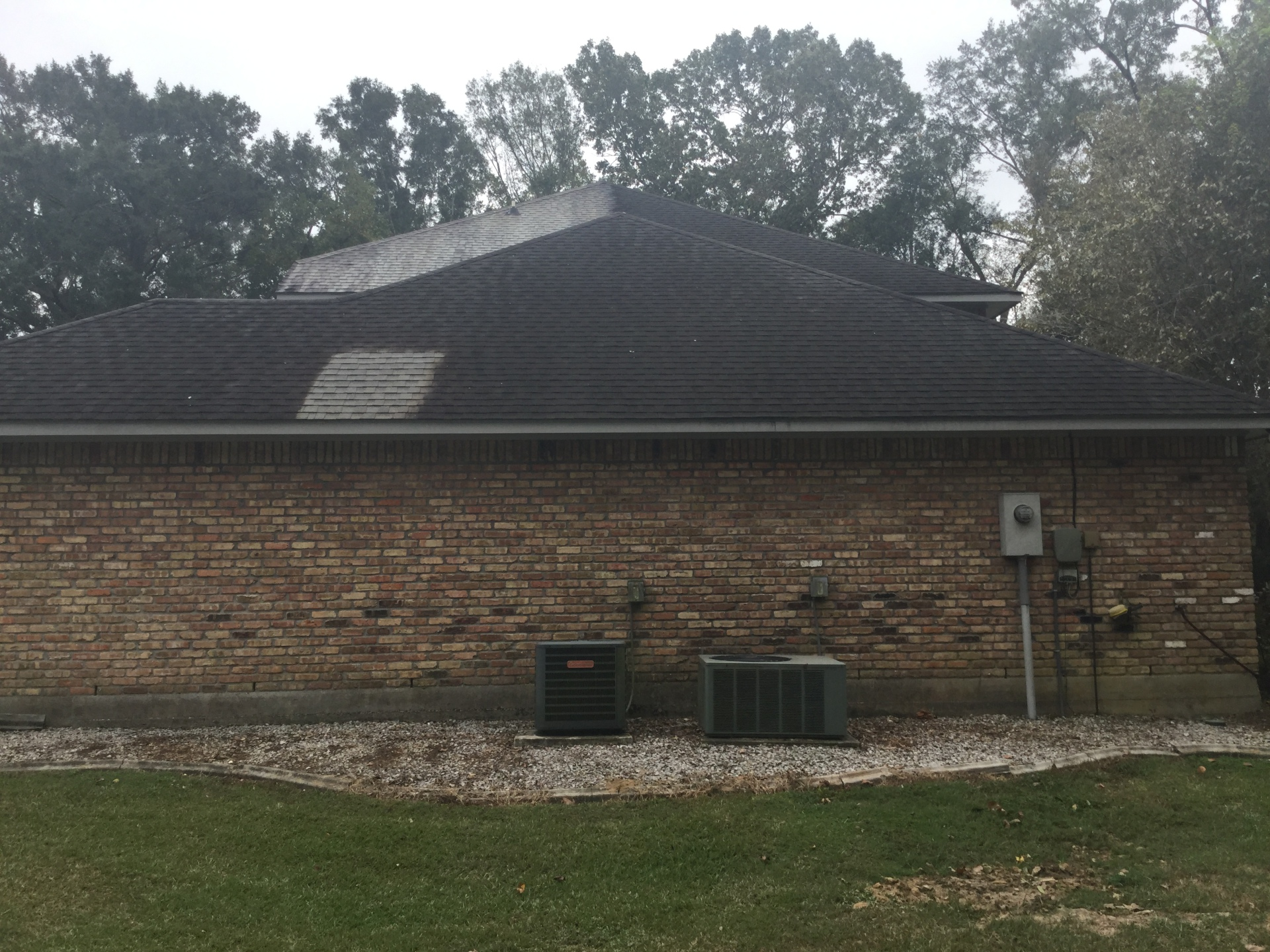 roof cleaning, roof cleaning demo