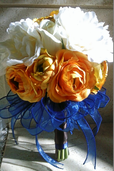 Alysia's bridesmaid bouquet Wedding 2011