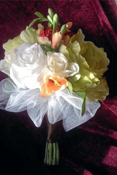 Alysia's bridal shower bouquet (Wedding 2011)