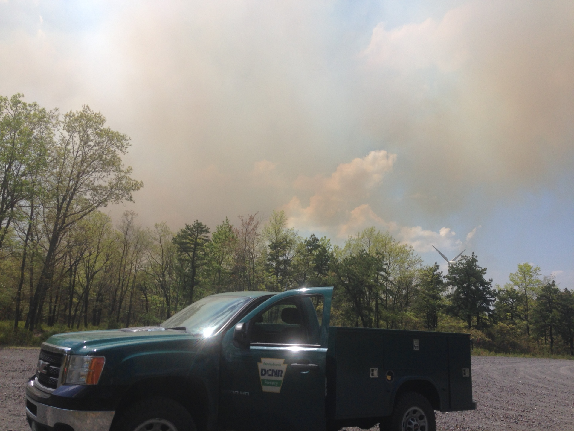 Pennsylvania Wildfire Research in the News
