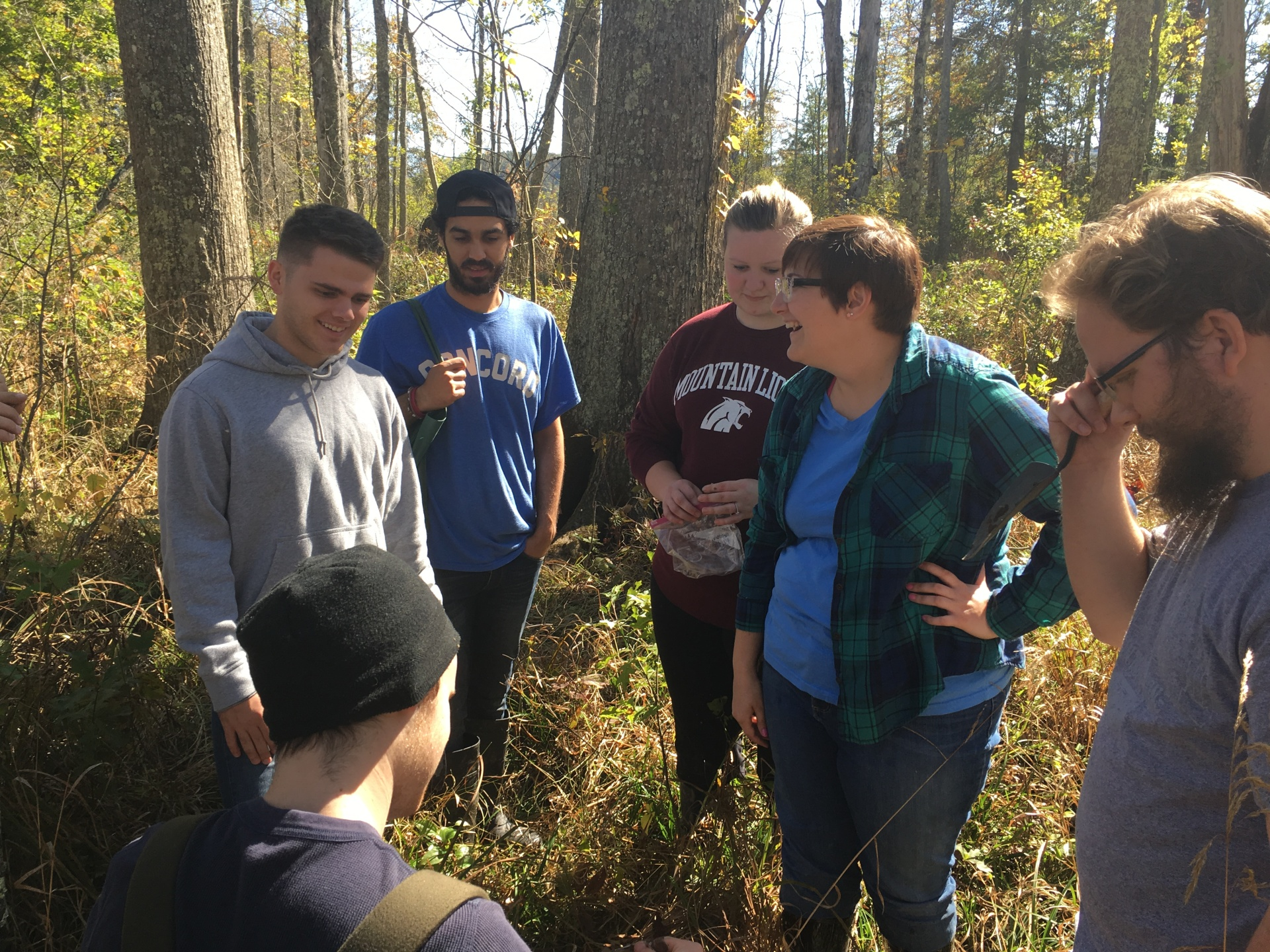 In the field with 'Geography of Soils'