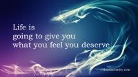 We deserve everything
