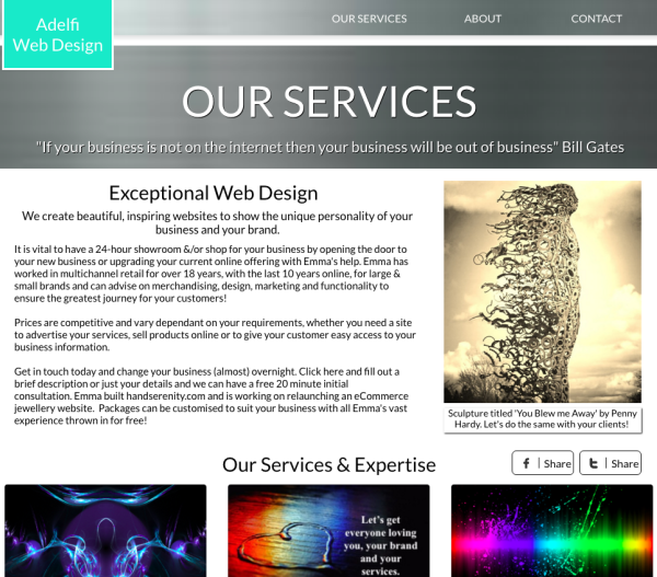 Adelfi Web Design