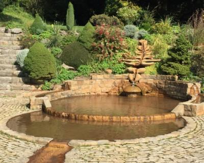 Chalice Well Gardens Glastonbury