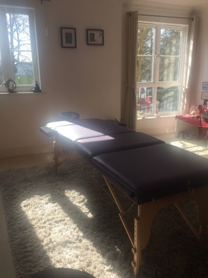 My Reiki Practice Room