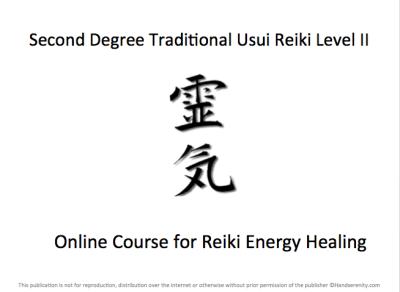 Handserenity Reiki II