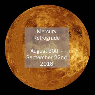 Mercury Retrograde 2016