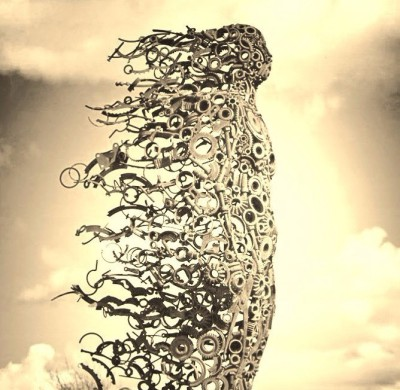 Penny Hardy Sculpture You Blew Me Away