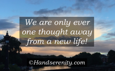 New Life Quote by Handserenity