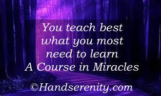 A Course in Miracles Principle