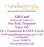 Reiki Offer Half Price
