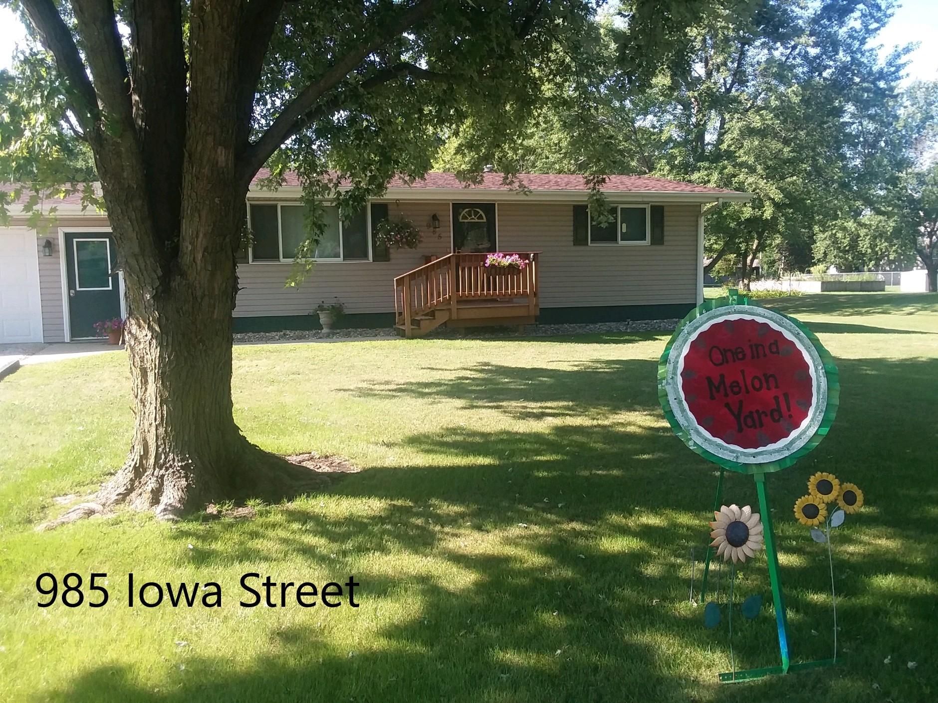 985 Iowa Street