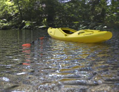 """""""Creeker"""" kayak."""