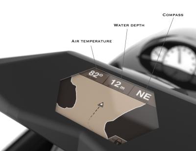 Personal watercraft GPS.
