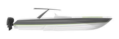 50' Sport boat concept.