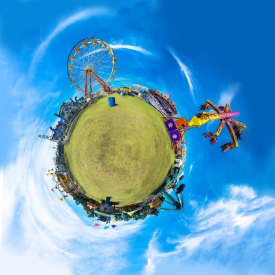 Tiny Planet: Sarasota Fair