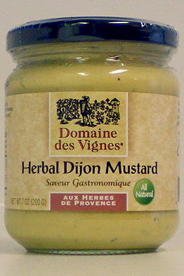 Herbal Dijon Mustard
