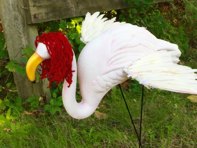 Emily Angel Themed Flamingos - a story of true compassion