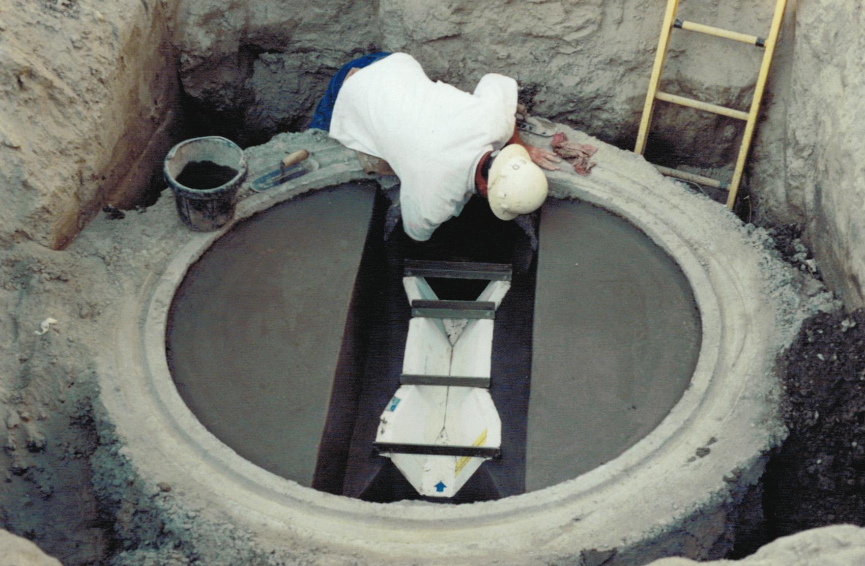 Flume Manhole