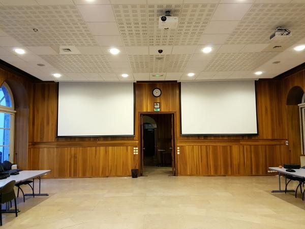 Salle réunion vidéo projection