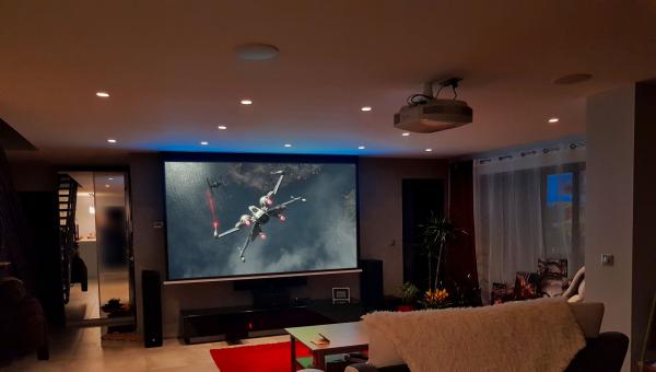 home cinéma vidéo projecteur