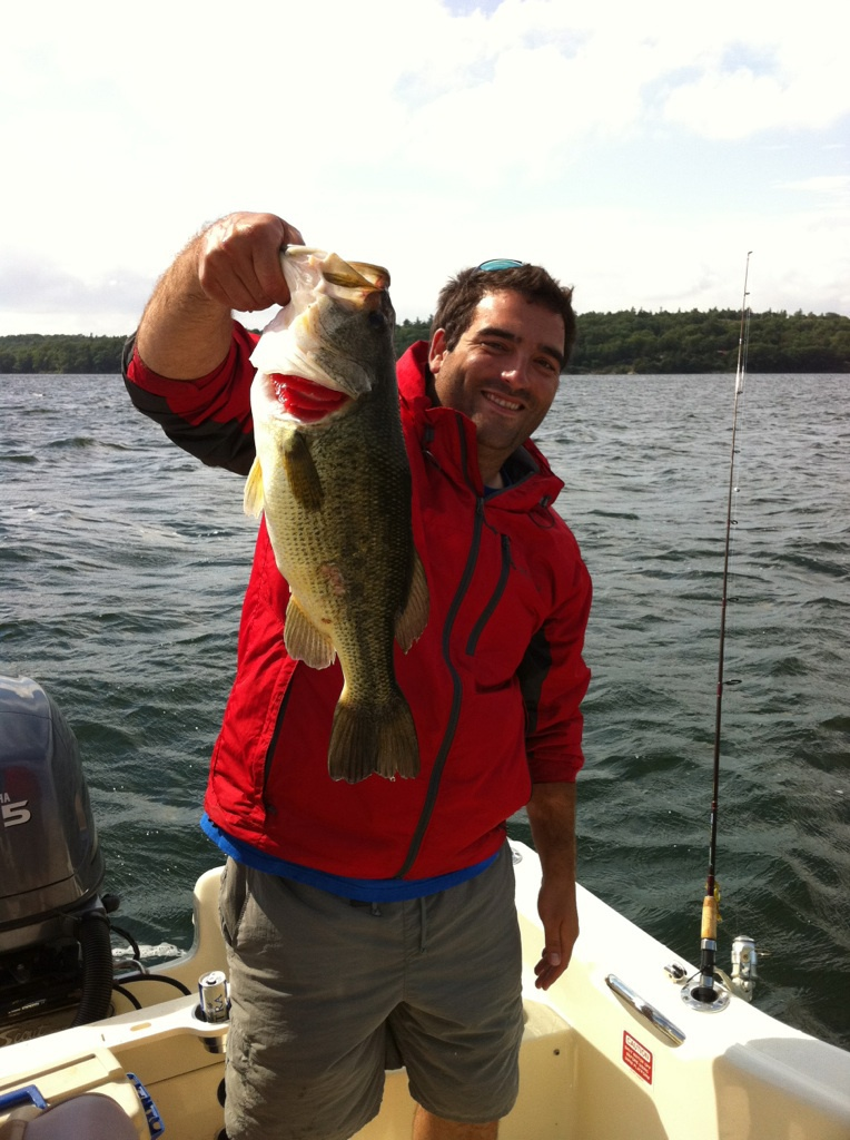 Frontage on Cayuga Lake is great for fishing.