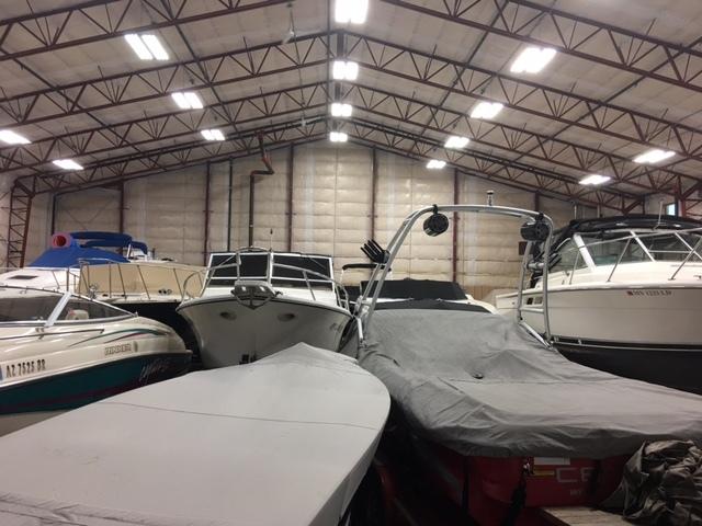 Indoor Boat Storage