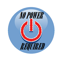 No power required logo