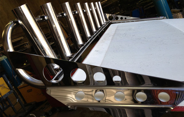 stainless steel rod holders
