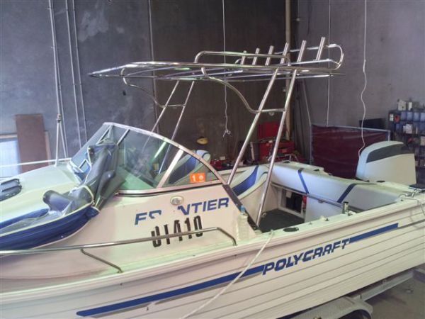 Boat marine stainless