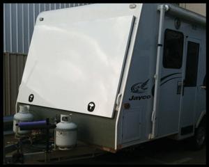Hard Top Caravan