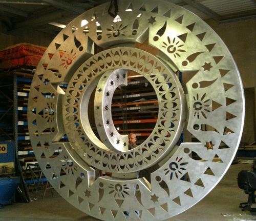 metal art works