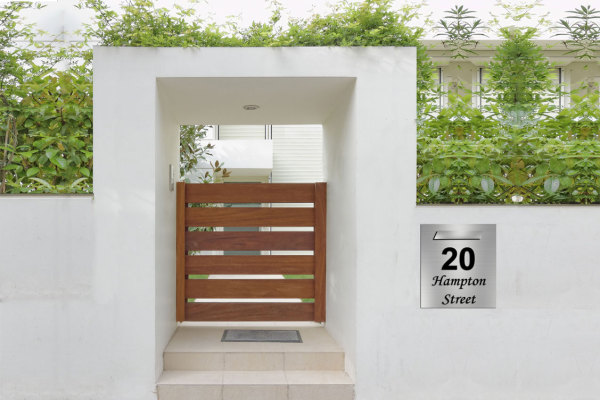 letterbox stainless