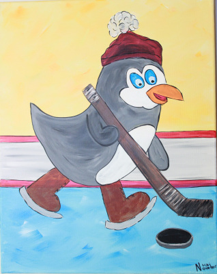Hockey Penguin