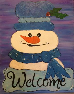 Welcome Snowman