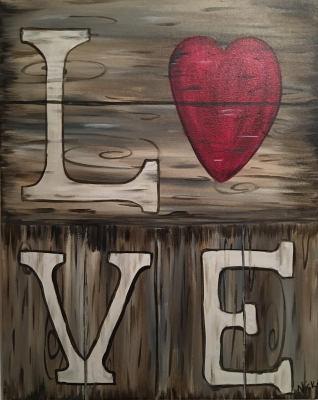 Rustic LOVE