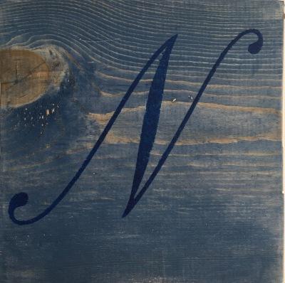 11x11 Monogram Wood Sign