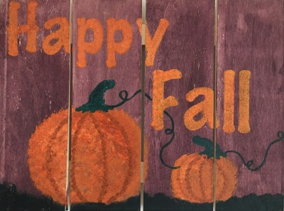Happy Fall Mini Pallet