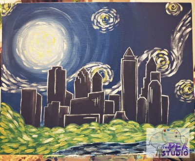 Atlanta Starry Night