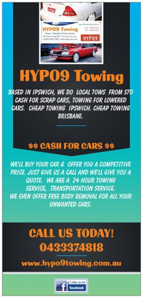 Ipswich Towing Service - Cheap Towing Ipswich - Cash For Cars Ipswich - Cheap Towing Brisbane - Towing service Brisbane - Car Towing Ipswich - HYPO9 Towing