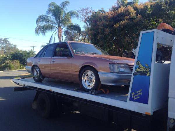 Holden commodore VH Auto V8 1983 GDM Mad Max demolition derby style rat rod old school GDM Holden VE commodore SS Manual White 2011 GDM  Ipswich towing services, cheap reliable towing, tilt tray tow truck, Flat bed towing, Wrecking, wreckers, Scrap