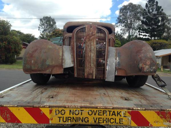 Mad Max demolition derby style rat rod old school GDM Ipswich towing services, cheap reliable towing, tilt tray tow truck, Flat bed towing, Wrecking, wreckers, Scrap