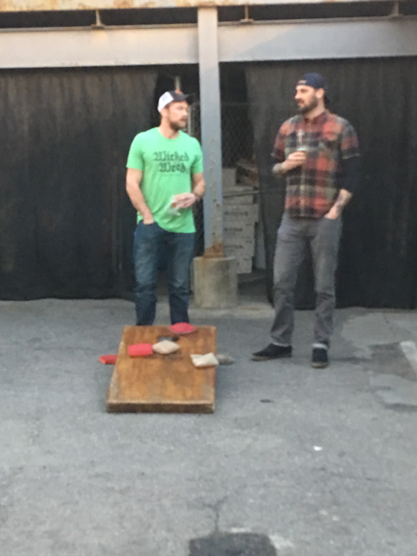 Wicked Weed Corn hole
