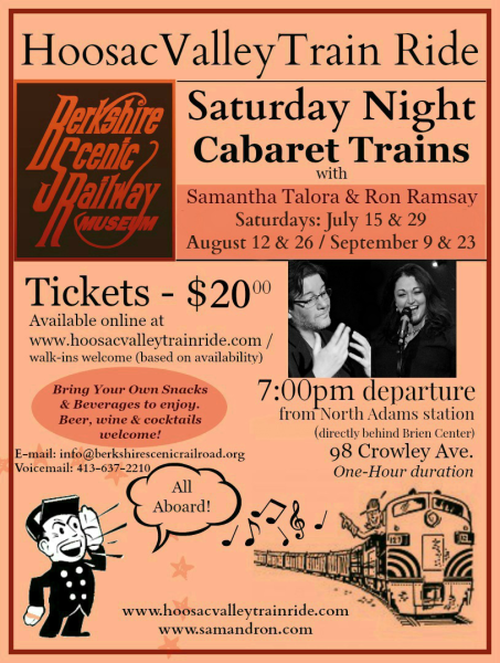 Saturday Night Cabaret Trains