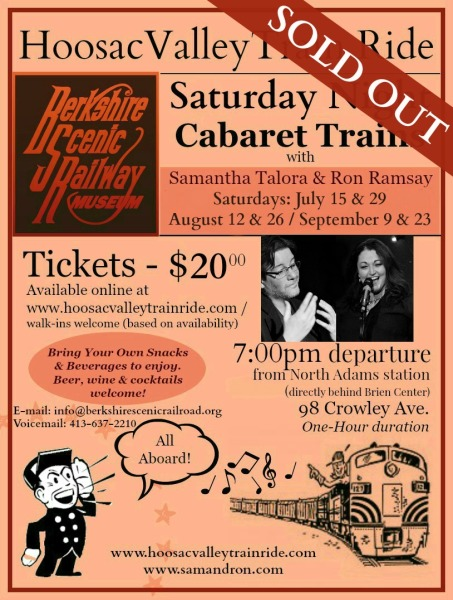 Saturday Night Cabaret Train