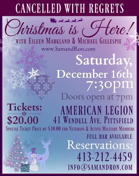 Saturday, December 16th