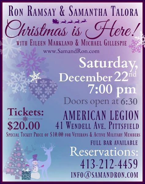 Saturday, December 22nd