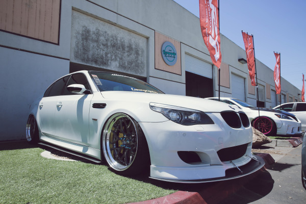 Bagged 2008 BMW E60 M5