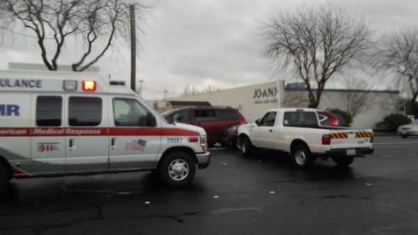 Three Vehicle Crash At McHenry And Standiford.
